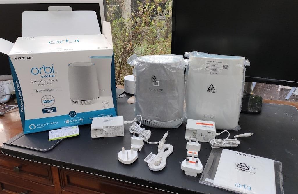 Orbi Voice test installation du routeur et satellite wifi mesh Alexa