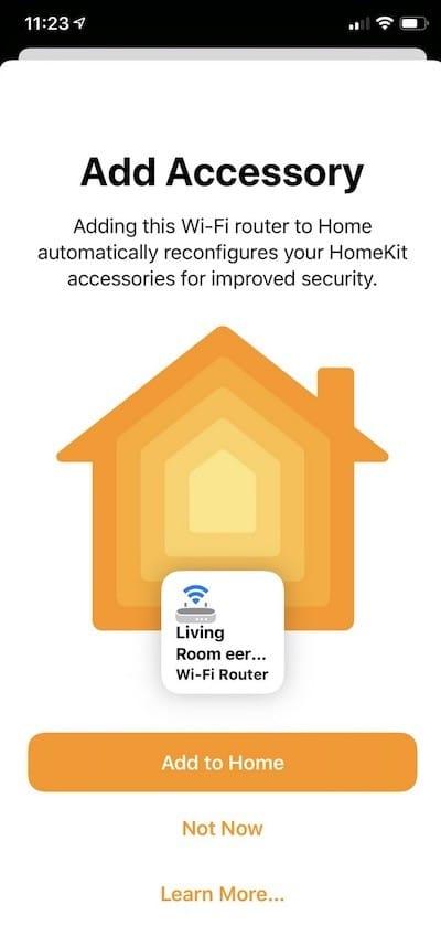routeur maillé eero compatible Apple HomeKit