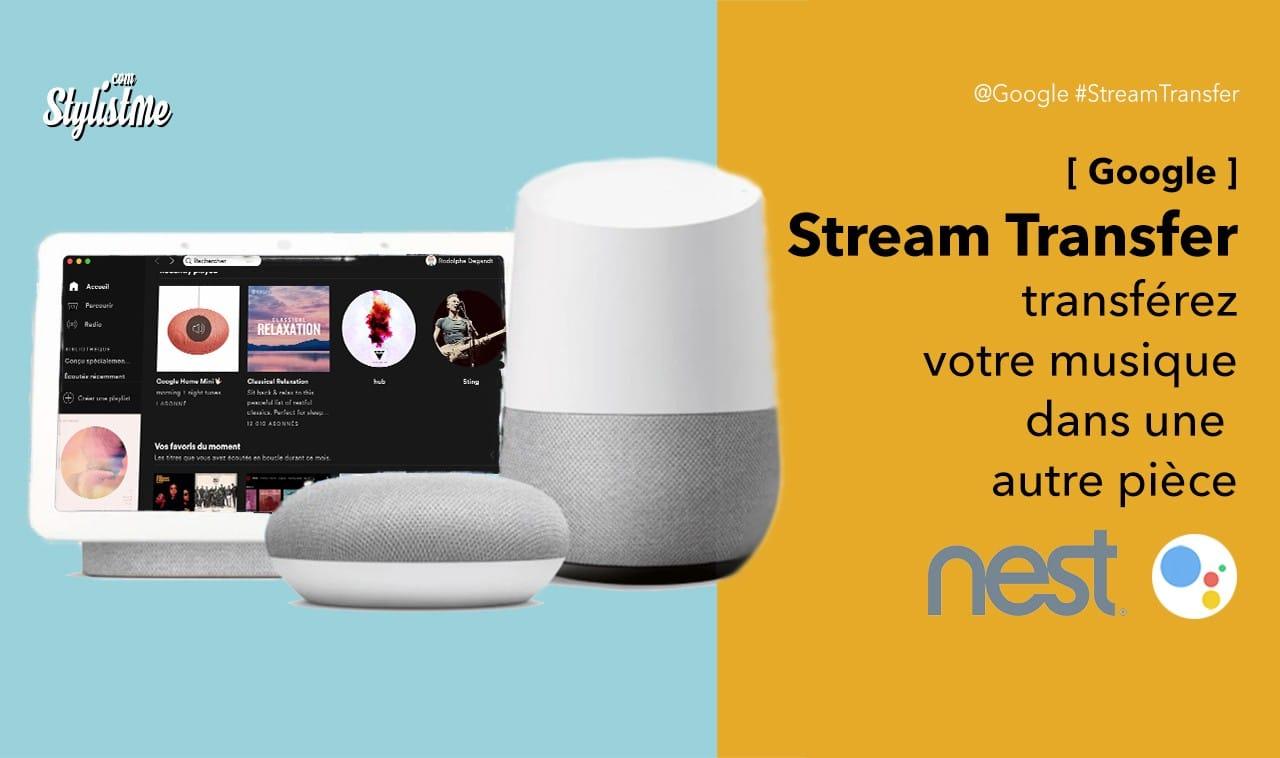 Stream-transfert-Google-Assistant-musique