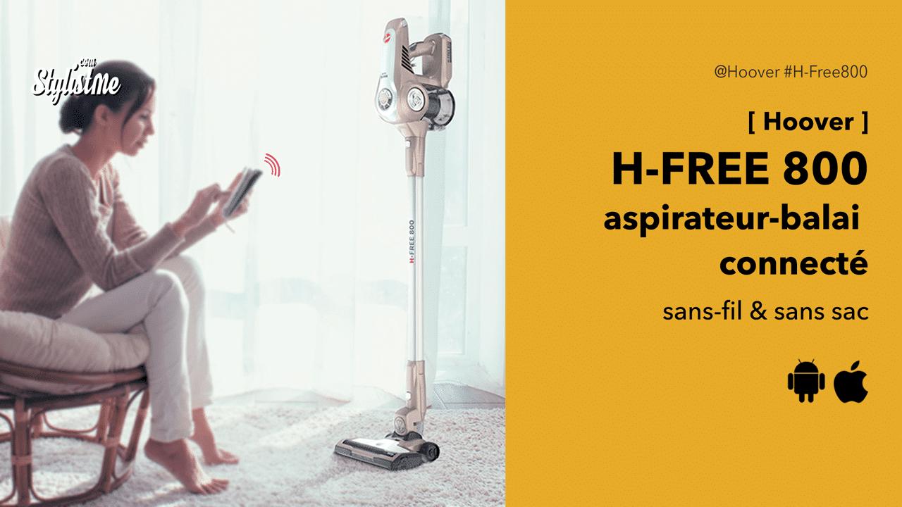 Hoover-H-FREE-800-aspirateur-balai-sans-fil-sans-sac-connecté