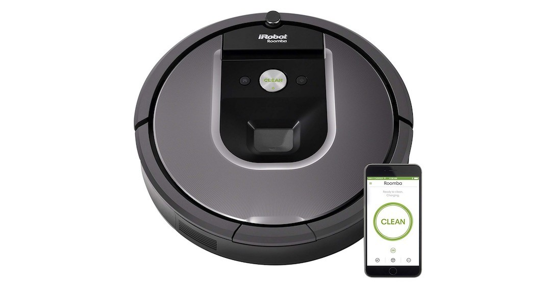 iRobot Roomba 960 meilleur robot aspirateur