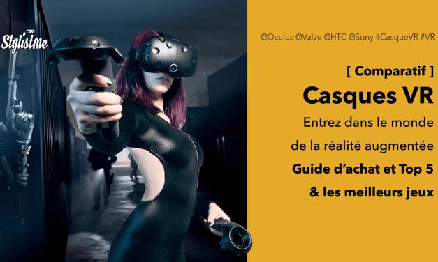 Meilleur casque VR réalité virtuelle : comparatif 2019 et guide d'achat