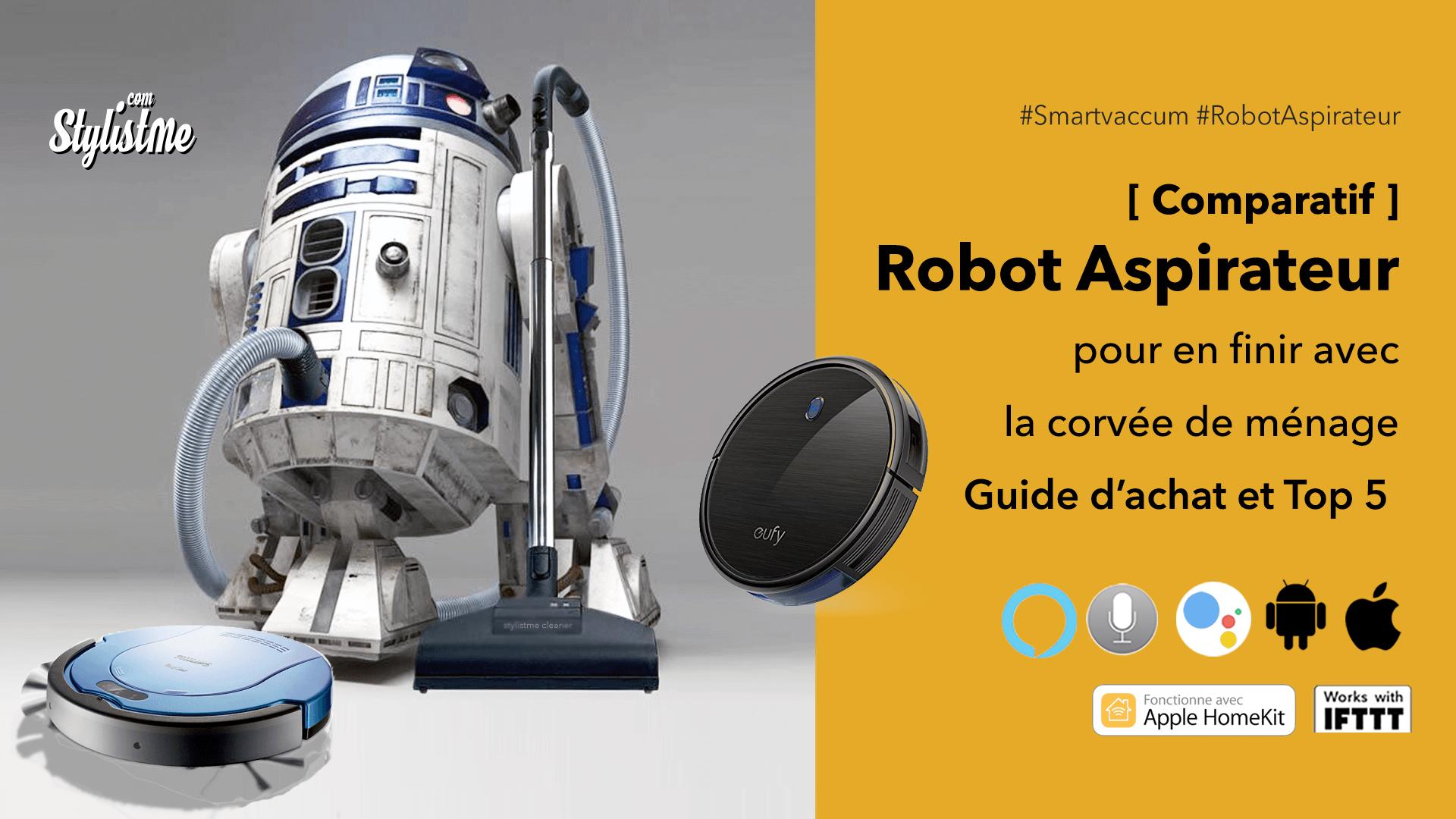 Meilleur robot aspirateur comparatif guide achat