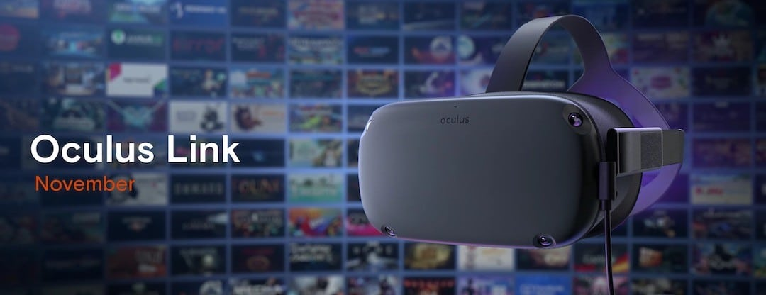 Oculus link prix date disponibilité