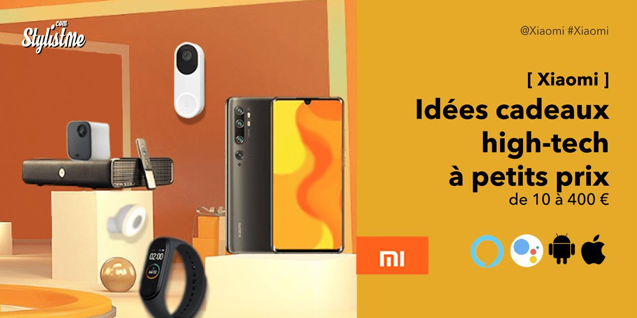 Idées cadeaux high-tech pas chers : la gamme objets connectés Xiaomi