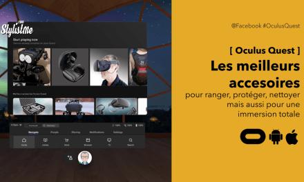 Meilleurs accessoires Oculus Quest 2020 pour profiter du casque VR n°1