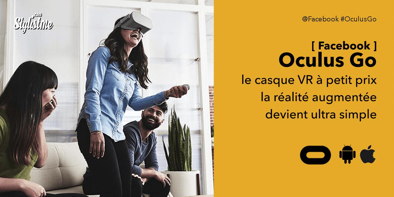 Oculus Go test avis du casque de réalité virtuelle en promo