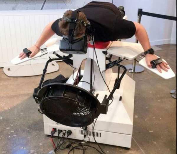 simulateur vol oculus quest accessoires