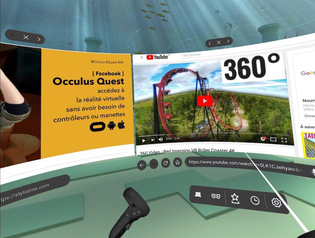 vidéo 3D et 360° Firefox Reality