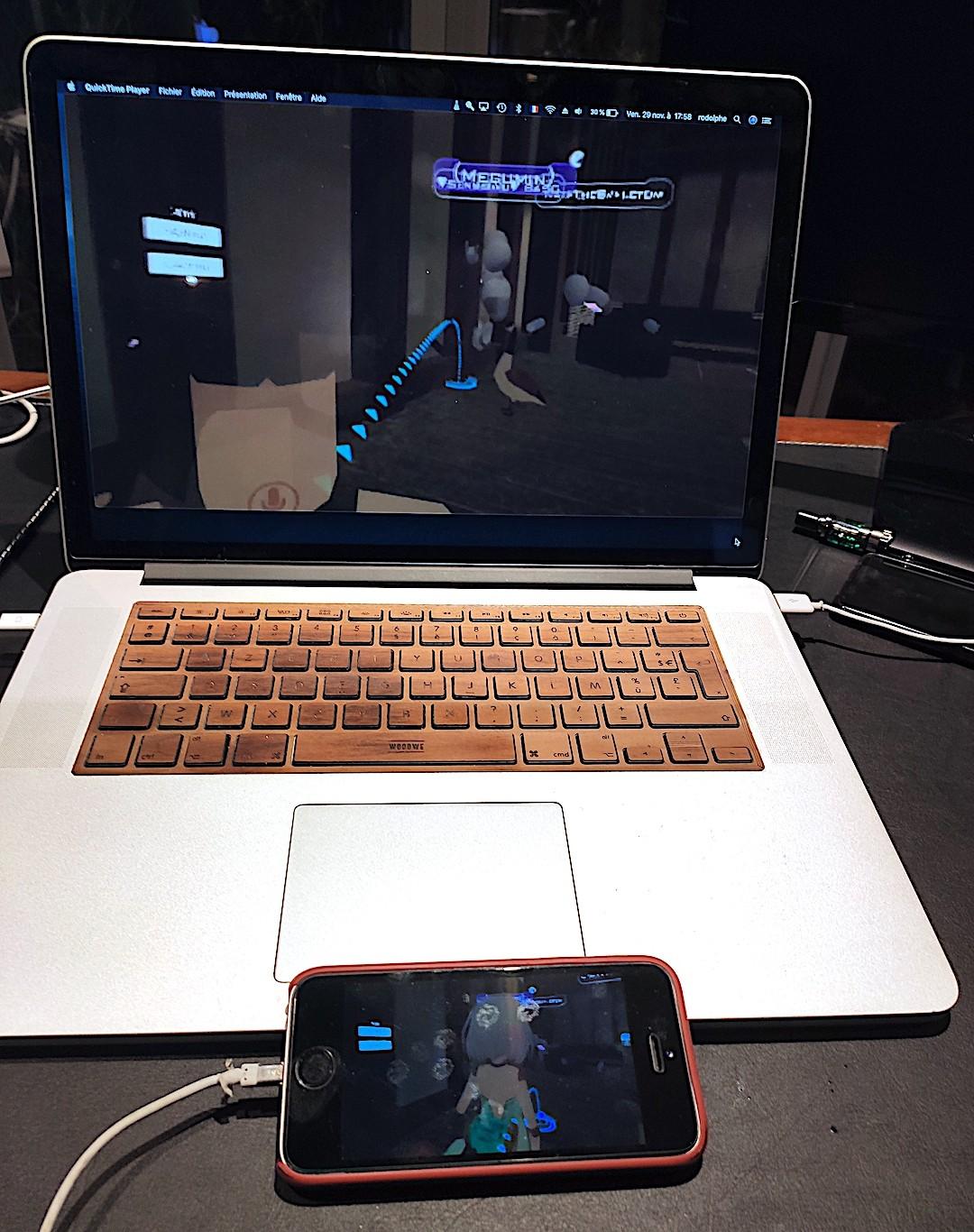 Voir Oculus Quest sur Mac
