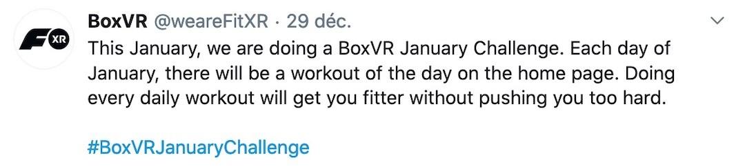 compétition réalité virtuelle challenge Box VR 2020