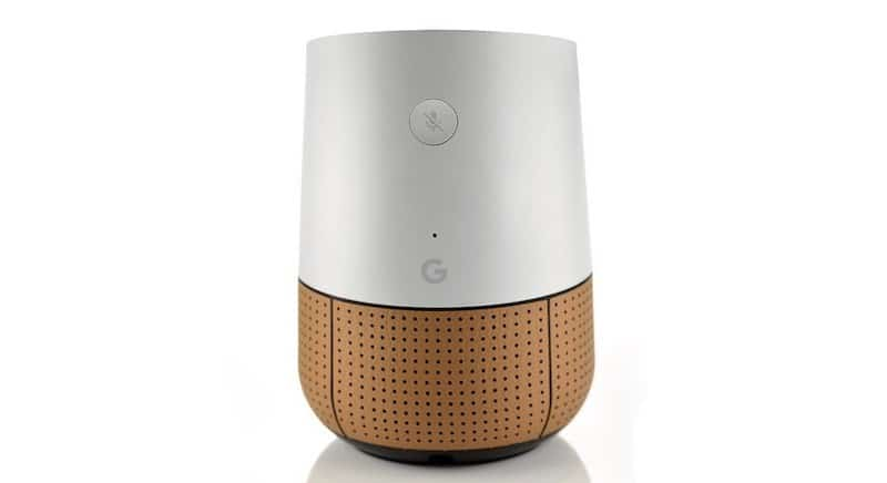 Housse cuir Google Home Nest Hub