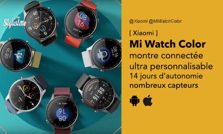Xiaomi Mi Watch Color avis prix test montre connectée pas chère