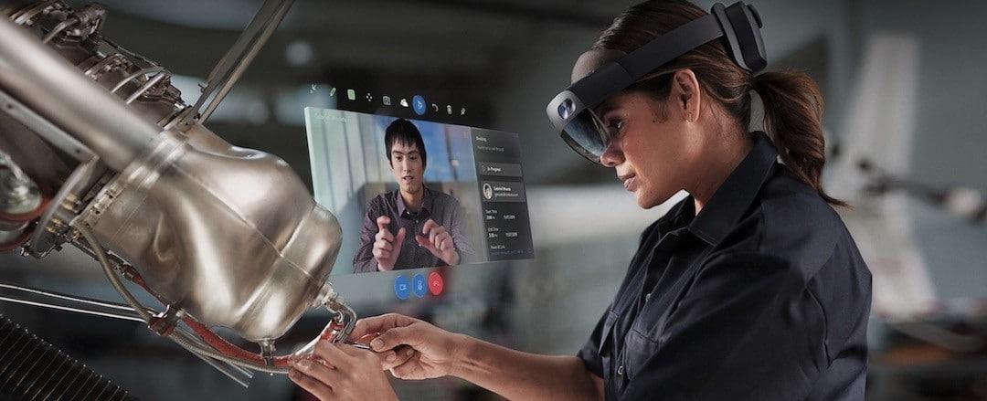 Microsoft Hololens 2 lunettes AR professionnelles