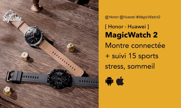 Honor MagicWatch 2 avis prix test montre connectée