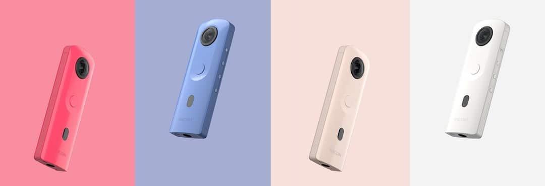 Ricoh Theta SC2 caméra 360 degrés simple à utiliser