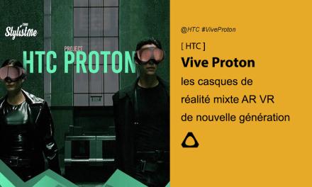 HTC Vive Proton deux projets de casques VR en 5G filaire ou smartphone
