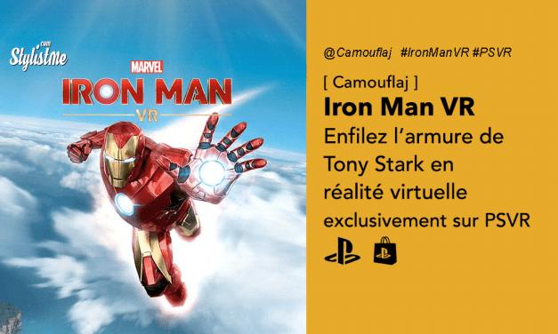 Iron Man VR enfin un Marvel en exclusivité sur PlayStation VR