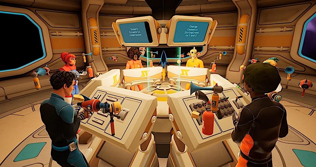 Spaceteam VR jeu casque vr et smartphone