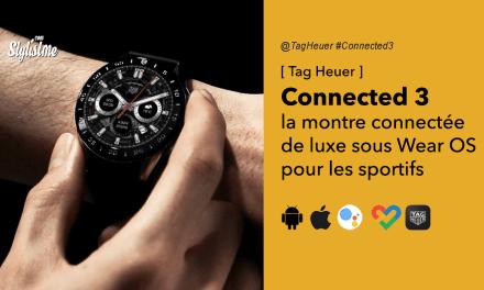Tag Heuer Connected 3 avis test prix montre connectée le luxe Suisse