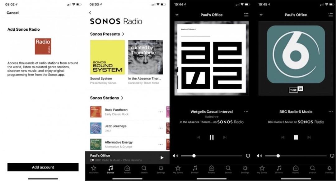 Sonos radio tuto fonction