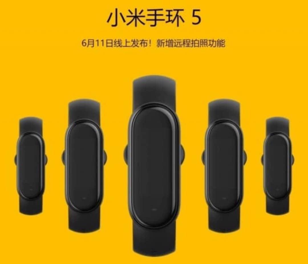 Xiaomi Mi Band 5 date de sortie