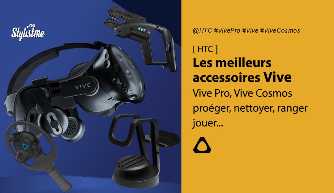 Accessoires HTC Vive les meilleurs de 2020 pour Vive Pro Vive Cosmos