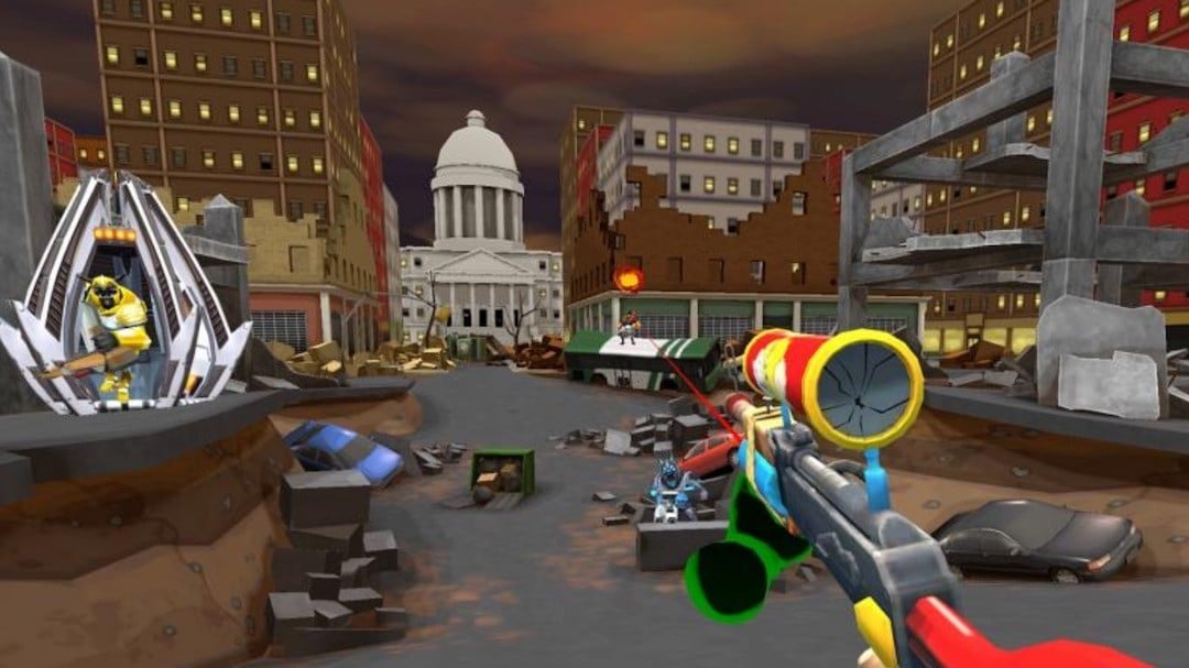 B Team avis test prix Oculus Quest