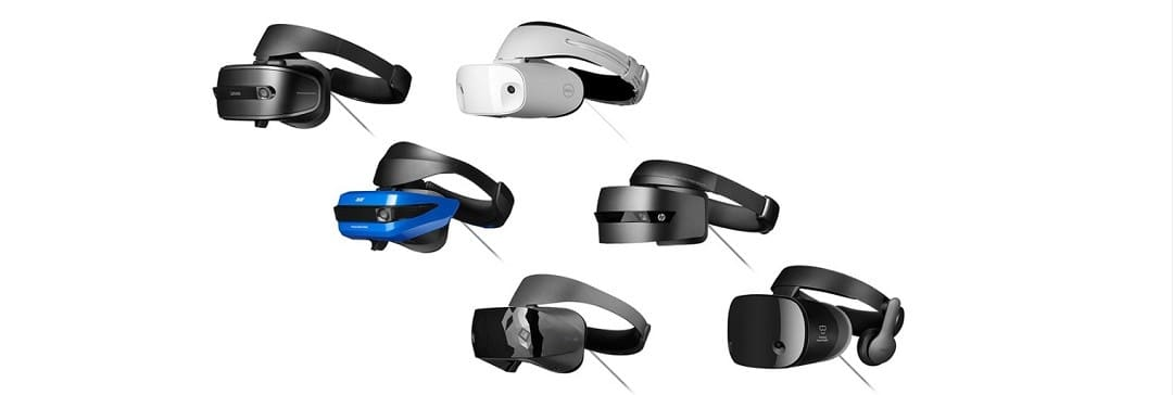 casques Windows MR réalité virtuelle