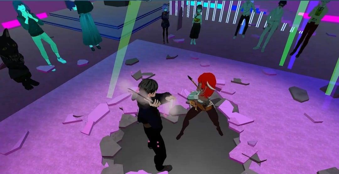Heavens Tournament combat arcade VR