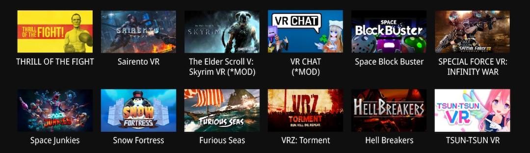 jeux vr compatibles bHaptics Tactot
