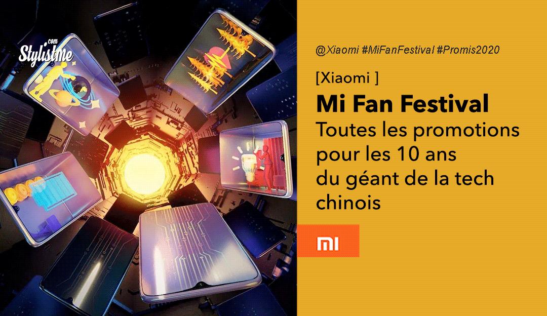 Mi Fan Festival 2020 promotions coupons réductions