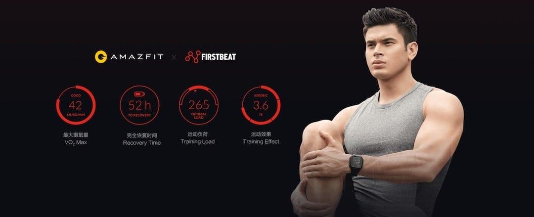 Amazfit Ares app Firstbeat score PAI et VO2 Max