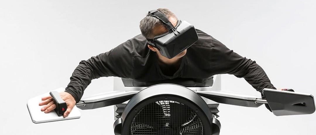 Birdly VR simulateur de vol réalité virtuelle