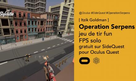 Operation Serpens le jeu de tir sur SideQuest (bêta 2 missions)