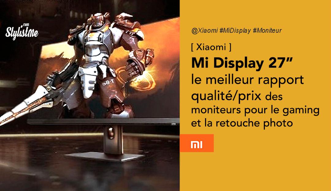 Xiaomi Mi Display 27 prix avis test date