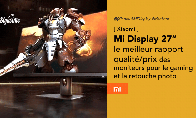 Xiaomi Mi Display 27 '' le grand écran pour gamer 165 Hz à petit prix