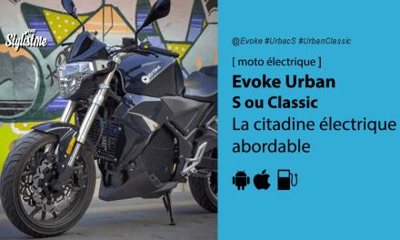 Evoke Urban S: une moto électrique urbaines enfin abordable