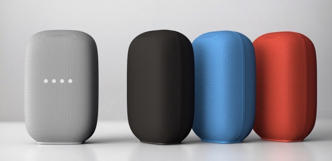 Google Nest Audio 2020 design