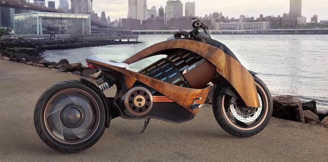 Newron EV-1 moto électrique luxe français