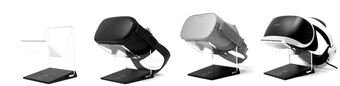 Socle casque VR éclairé Aura Asterion