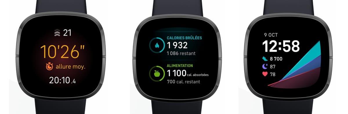 Fitbit Sense montre sport suivi
