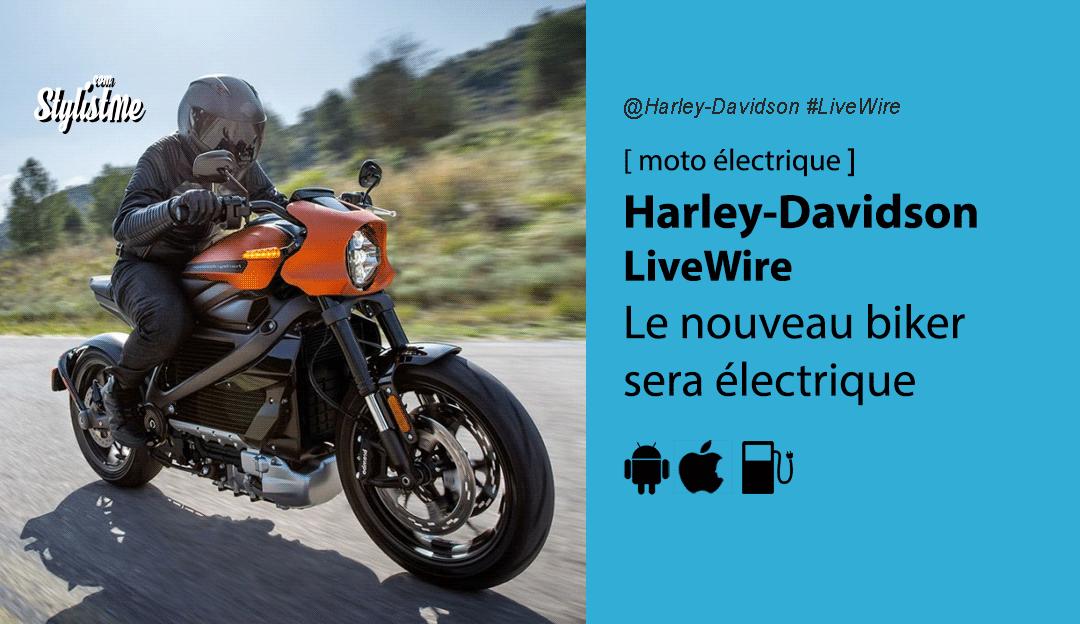 Harley-Davidson LiveWire avis test prix moto électrique