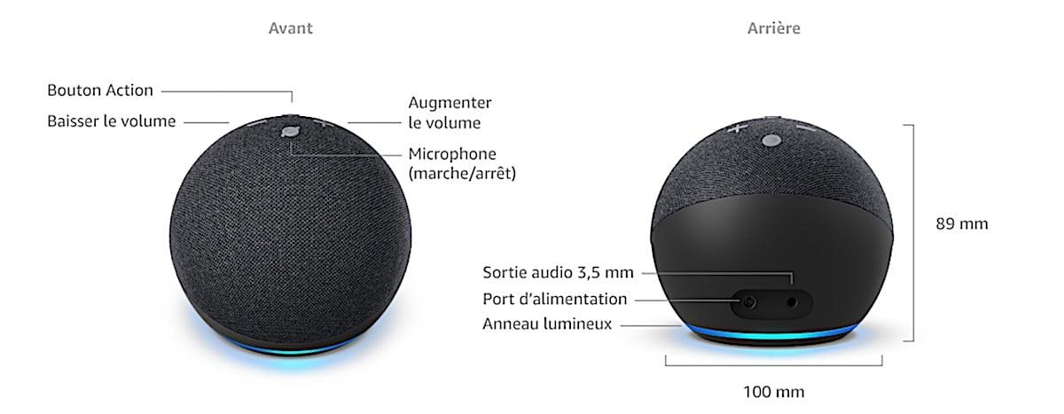 Amazon Echo Dot 4 test