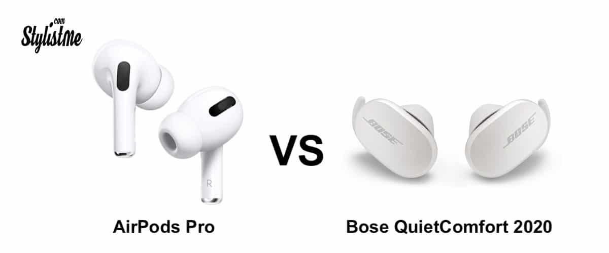 Bose Quietcomfort contre AirPods Pro
