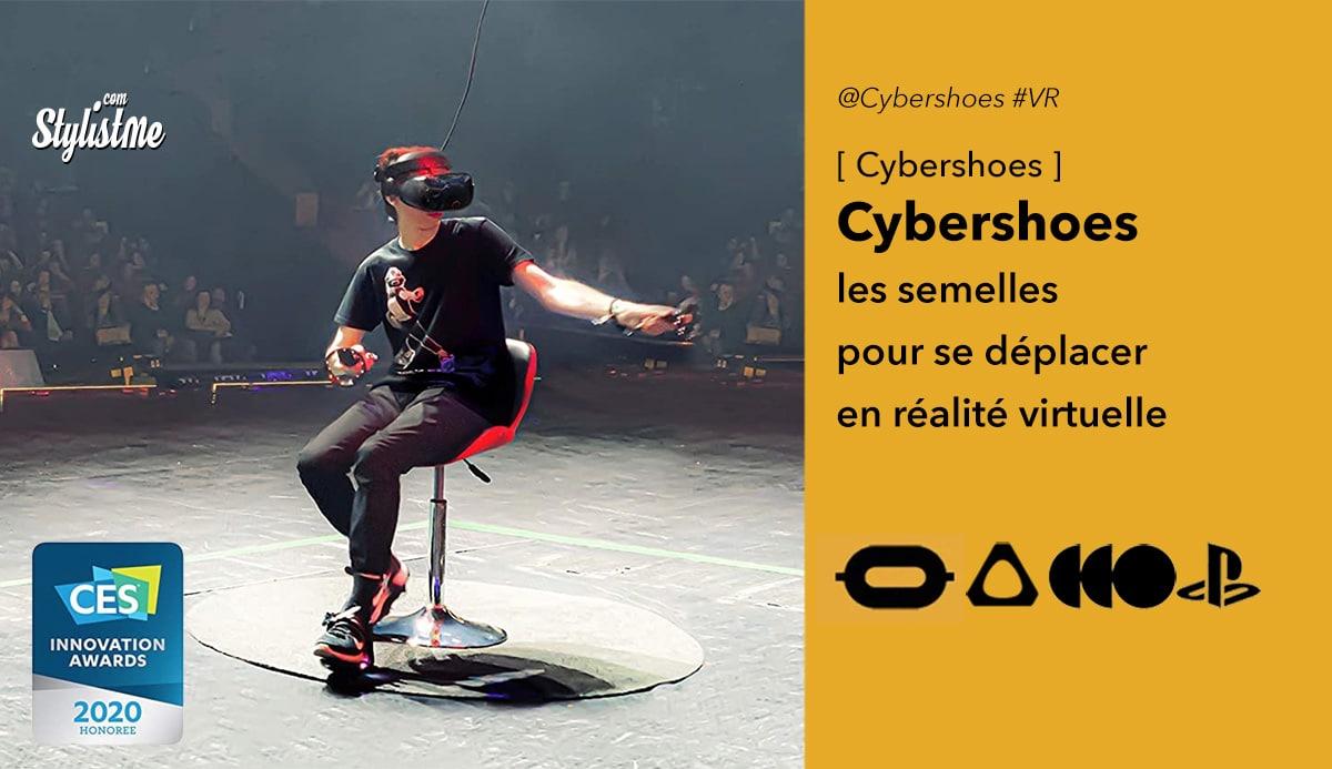 Cybershoes avis prix test réalité virtuelle