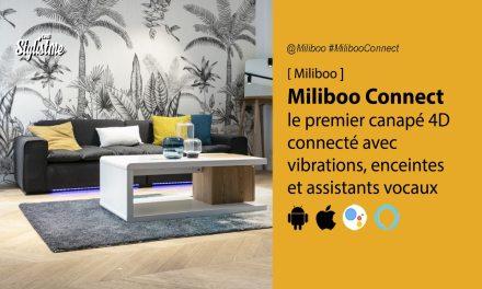 Miliboo connect canapé connecté 4D pour un Home Cinéma immersif ultime