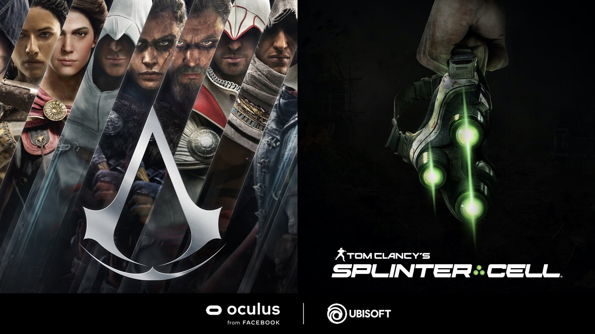 Splinter Cell VR Assassins Creed VR Oculus Quest 2