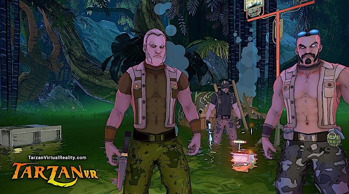 Tarzan VR graphisme
