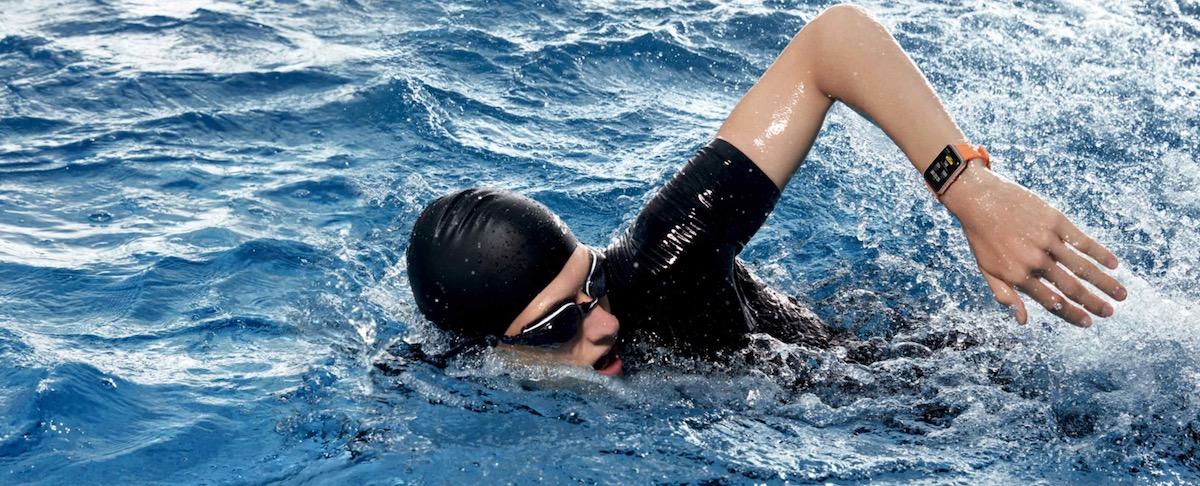 montre connectée piscine